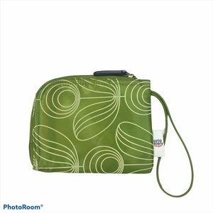 Orla Kiely for Target Green Floral Make Up Bag